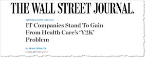 Healthcare Y2K Problem